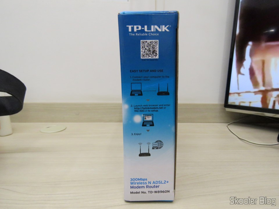TP-Link TD-W8960N - Modem ADSL2 + Wireless N Router 300Mbps