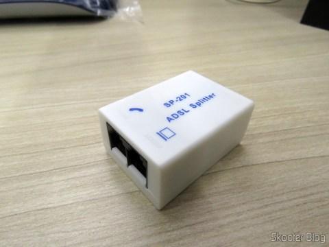 FIltro ADSL do TP-Link TD-W8960N - Modem Roteador Wireless N ADSL2+ de 300Mbps