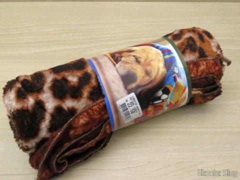 Microfiber blanket for dogs