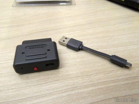 Retro Receiver SNES e seu cabo USB
