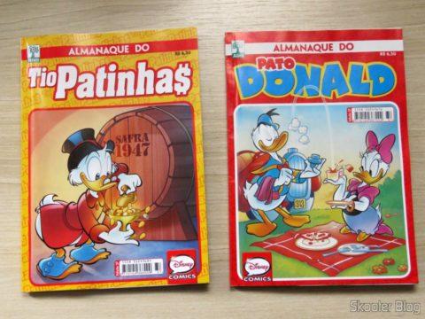 Comic Almanac of Scrooge McDuck and Donald Duck Almanac