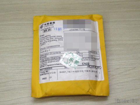 Pacote com a Pulseira para Xiaomi Mi Band 1S
