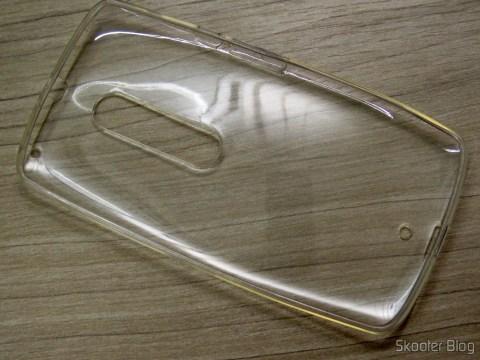 Capa para Motorola Moto X Play de TPU Macio Transparente