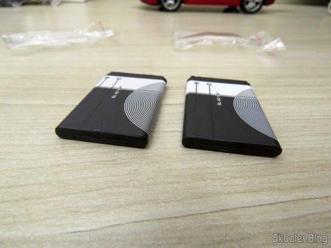 2 BL-5 c batteries 1020mAh
