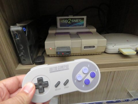 8bitdo SNES30 GamePad, operation
