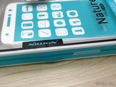 Capa Transparente para Motorola Moto Z Play Nillkin Nature TPU 0,6mm, em sua embalagem