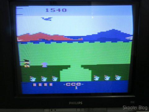 Atari 2600 em funcionamento