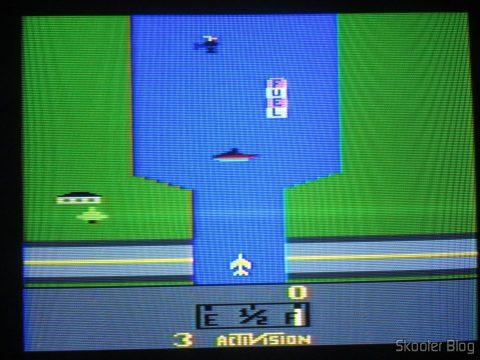 River Raid, running at NTSC.