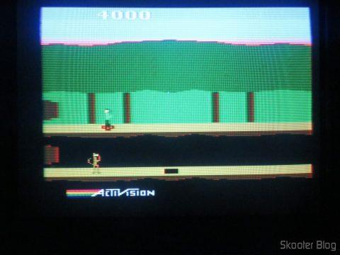 Pitfall II, running at NTSC.