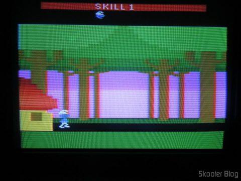 Smurf: Rescue in Gargamel´s Castle, executando em NTSC.