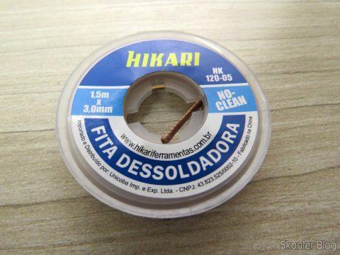 Fita Dessoldadora - Malha Dessoldadora Hikari - 1,5m 3mm