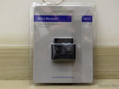 2º Retro Receiver SNES - 8bitdo, em sua embalagem