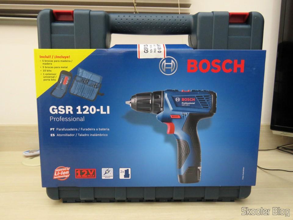 Parafusadeira-Furadeira à Bateria Bosch 12V GSR 120-LI