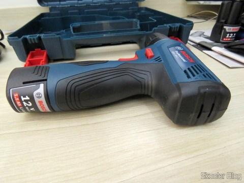 Screwdriver-drill Bosch 12V battery GSR 120-LI.