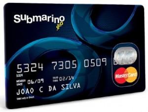 Cartão Submarino