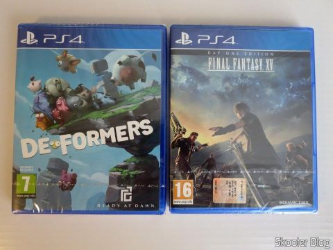 Deformers and Final Fantasy XV, the games that came with the PS4 Pro.