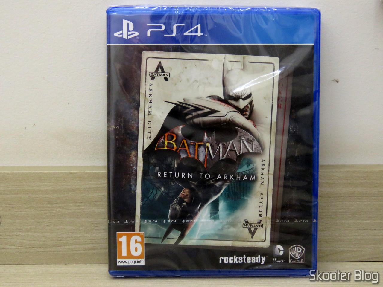 Batman Return to Arkham (PS4) – GameStop em Trieste – Itália