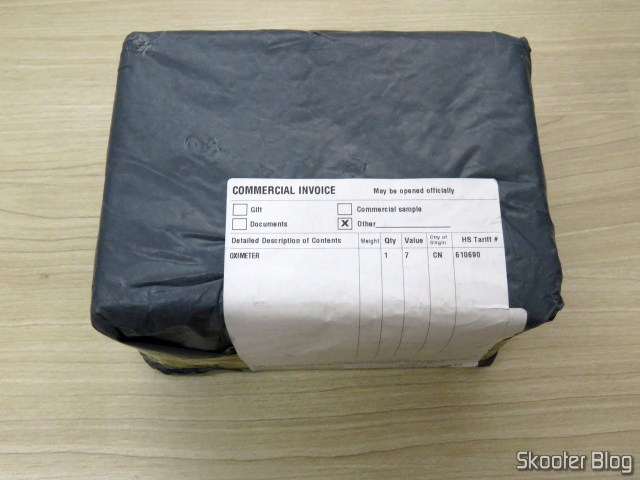 Package with the Electronic blood pressure Monitor