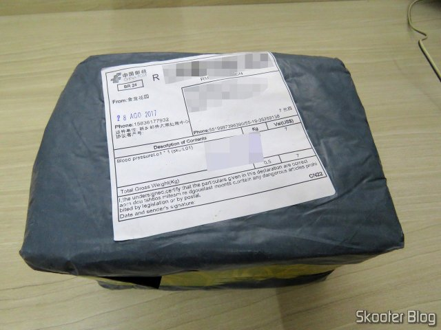 Package with the Electronic blood pressure Monitor (replacement)