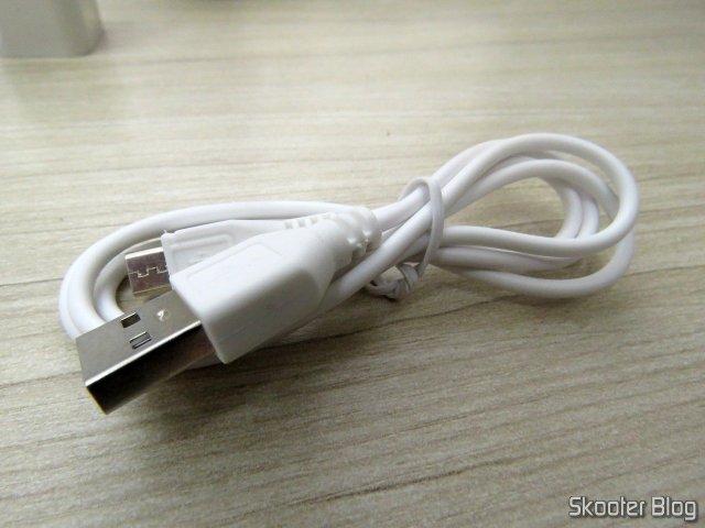 Cabo USB do Monitor de Pressão Arterial Eletrônico (substituição).