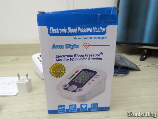 Packing Electronic blood pressure Monitor (replacement).