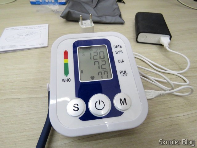Electronic blood pressure monitor (replacement), operation.