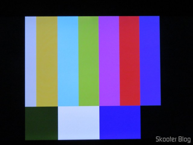 Color Bar Generator, on the Atari 2600 with the 2600RGB using the RGB output.