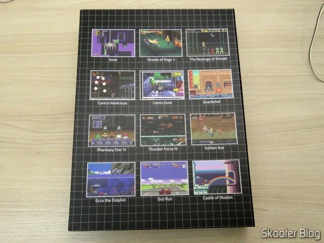 A caixa do livro Mega Drive Definitivo substituta.