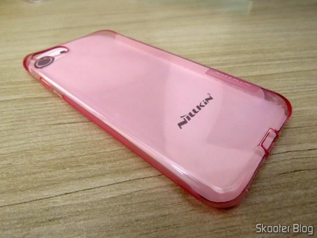 Capa para iPhone 7 Nillkin Ultra Fina Rosa Translúcida