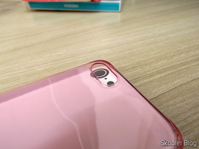 Cover for iPhone 7 Nillkin Ultra Thin Translucent Pink