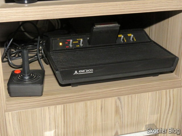 Atari 2600, connected to gscartsw_lite v 1.5.