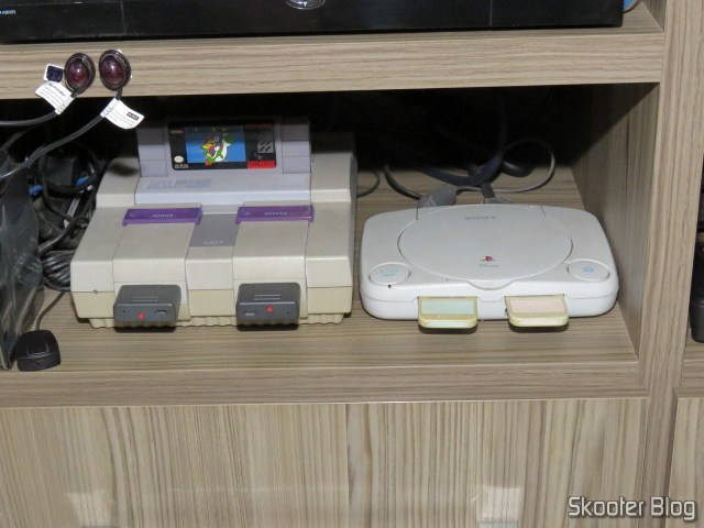the Super Nintendo and the Playstation One, connected to gscartsw_lite v 1.5.