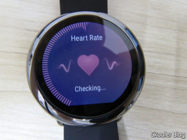 Heart rate in Amazfit Pace.