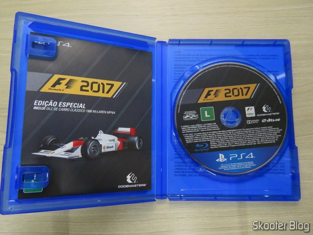 F1 2017 - Playstation 4 (PS4)
