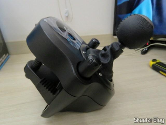 Câmbio Logitech Driving Force Shifter para G29/G920 Preto.