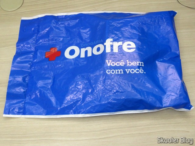 Package with my third request in Onofre Drugstore.
