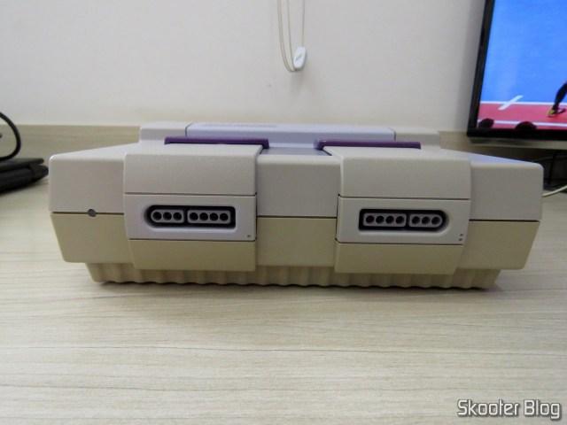 Super Nintendo, após a limpeza profunda.