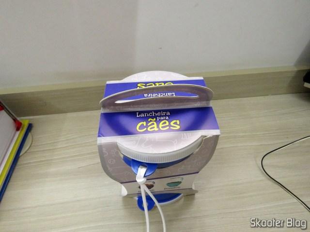 Lancheira para Cães - Brinde da Ração PremieR, em sua embalagem;