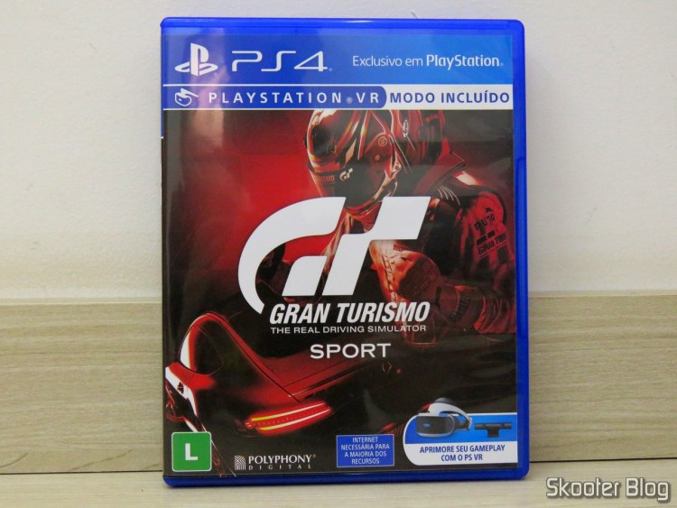 Gran Turismo Sport - Playstation 4 (PS4)