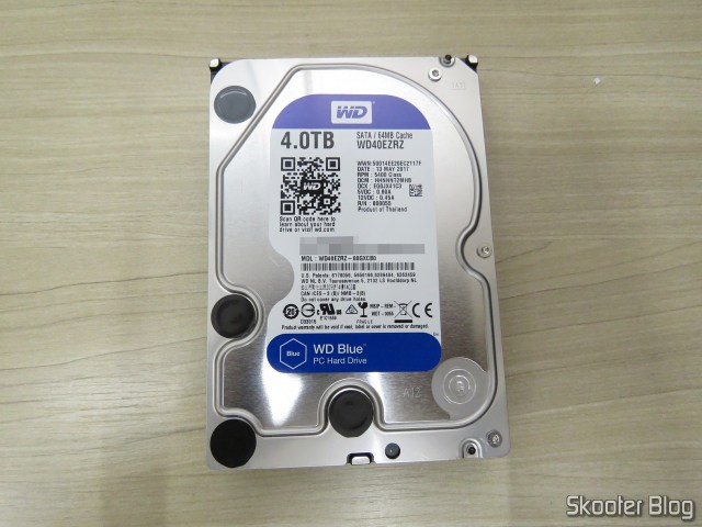 "HDD Western Digital Blue 4TB SATA 3.5""."