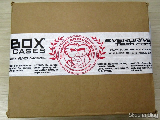 Package with the Mega EverDrive X 7 - Deluxe Edition.