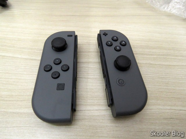 Joy-con do Nintendo Switch.