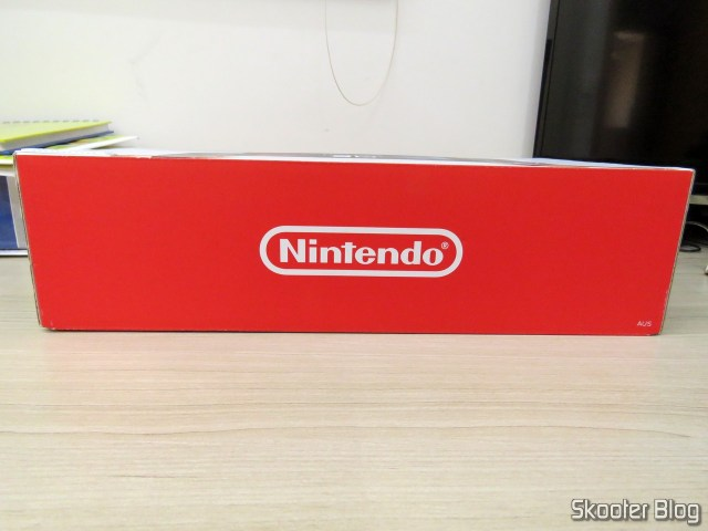 Nintendo Switch box, after cleaning.