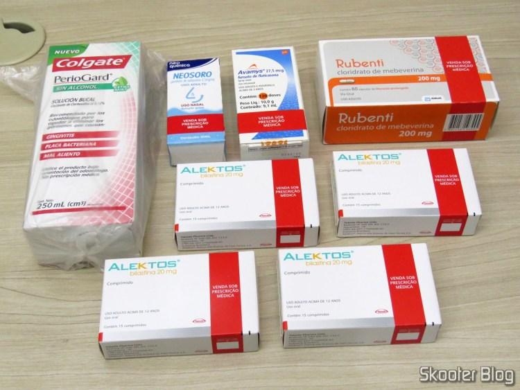 Onofre Drugstore - 4# Request: 4x Alektos, Rubenti, Avamys, Periogard and Neosoro