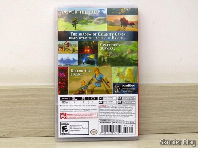 The Legend of Zelda: Breath of the Wild - Nintendo Switch.