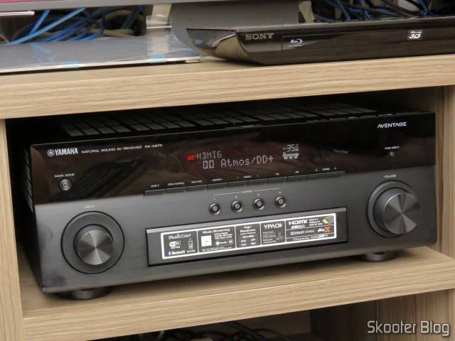 Review] Receiver Yamaha Aventage RX-A870 - Skooter Blog
