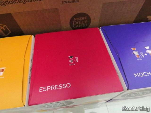The espresso capsules.