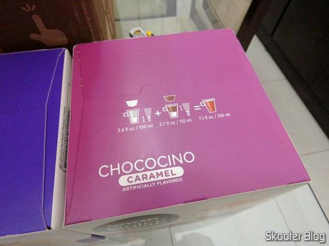 As cápsulas de Chococino Caramel.