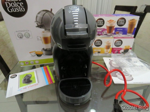 Coffee Nescafé Dolce Gusto Black Mini Me, in your package. The Coffee Nescafé Dolce Gusto Black Mini Me.