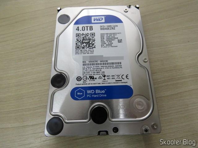 """HDD Western Digital Blue 3.5"""" WD40EZRZ 4TB."""